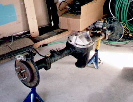 for a 1997 disc brake rearaxle.